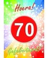 70 jaar verjaardag poster