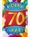 Mega poster 70 jaar versiering