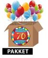 70 jaar feestartikelen pakket