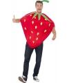 Aardbeien kostuum voor volwassenen