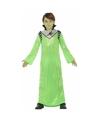 Groene alien koning Zharor verkleedkleding voor jongens