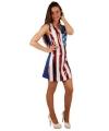 USA jurkje met pailletten