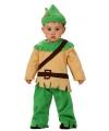 Baby verkleedkleding Robin Hood