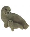 Tuindecoratie zeehonden beeldje 11 cm