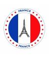 Frankrijk thema bierviltjes
