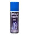 Blacklight haar spray
