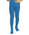 Blauwe kinder panty voor bij body