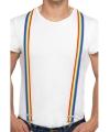 Rainbow kleuren bretels