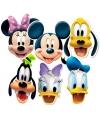 Maskers van Disney figuren