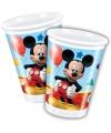 Feest bekertjes Mickey Mouse 200 ml
