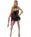 Damens gladiator kostuum