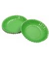 Groene snack schaaltjes 16 cm