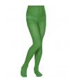 Gekleurde kinder panty groen