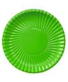 Groene wegwerp borden 29 cm