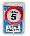 Verjaardagskaart 5 jaar