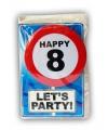 Verjaardagskaart 8 jaar