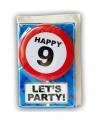 Verjaardagskaart 9 jaar