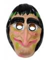 Halloween heksenmasker Adrienne