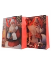Kerst cadeau tas kerstman 72 cm type 1