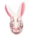 Dieren masker konijn