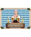 100 Oktoberfest placemats van papier
