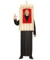 Priester kostuum met biechtstoel