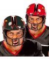 American football rugby helm rood