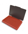 Stempel kussentje rood 7 x 11 cm