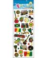 Stickervel reggae