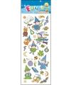 Kinder Tovenaars/heksen stickers