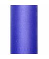 Blauwe tule stoffen15 cm breed