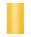 Gele tule stoffen15 cm breed