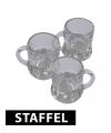 Shotglas bierpullen pakket