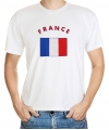 Frankrijk vlag t-shirts