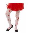 Halloween kinder panty met bloed