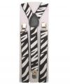 Bretels met zebra print
