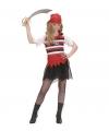 Vekleedkleding piraten kostuum meisje