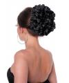 Spaanse flamenco bloem klem zwart